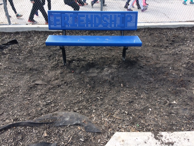 Carruthers Friendship bench