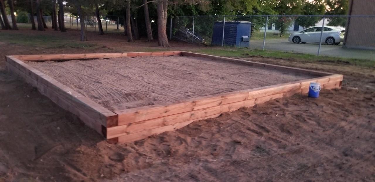 Sandbox 20'x 20'