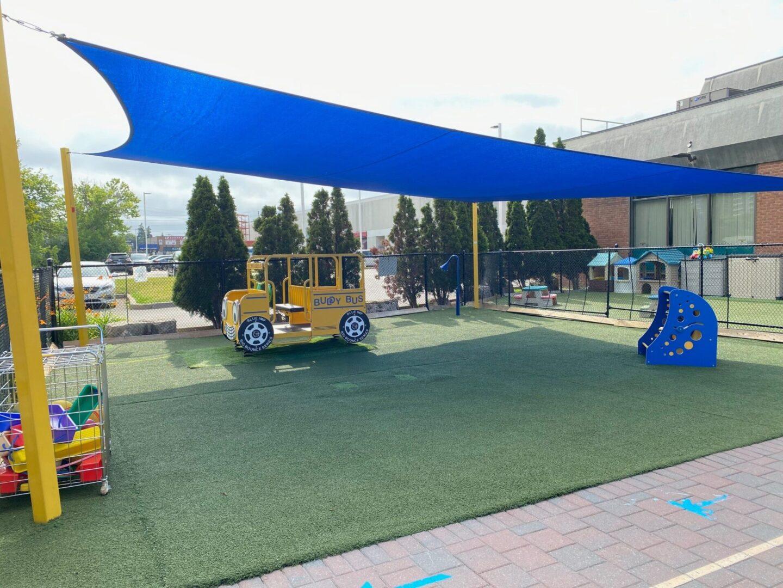 Preschool shade sail Toronto
